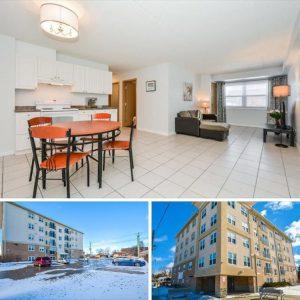 滑铁卢公寓两个单间5至8月短租,价格优惠 只租400/月,包水气网