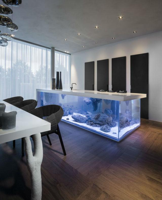 国内外家居鱼缸设计欣赏