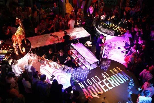 多伦多水族馆狂欢party变成彩虹色