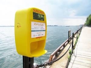 多伦多安装了75个免费防晒霜派发器!热门城市公园都有