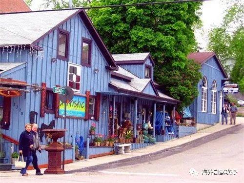 自驾游:多伦多周边的8个美丽小镇