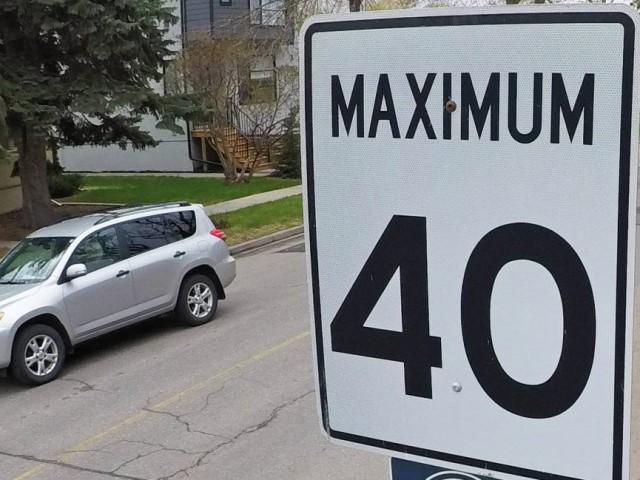 密西沙加十大社区即将实行40km/h限速