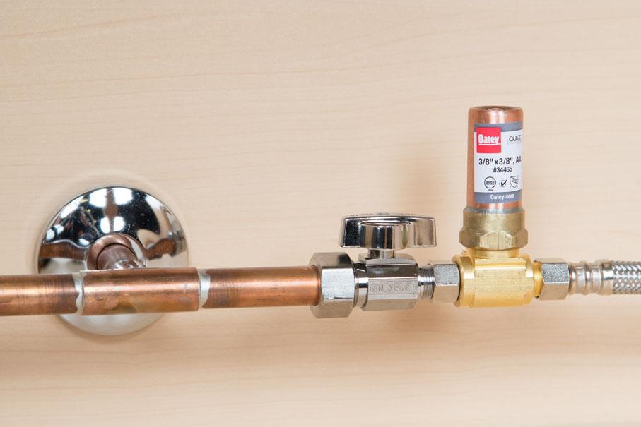 water-hammer-arrestor-install