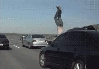 行车记录仪录下的车祸