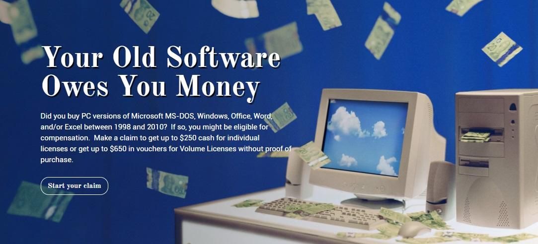 微软败诉,每个使用Windows电脑的人都能得到赔付
