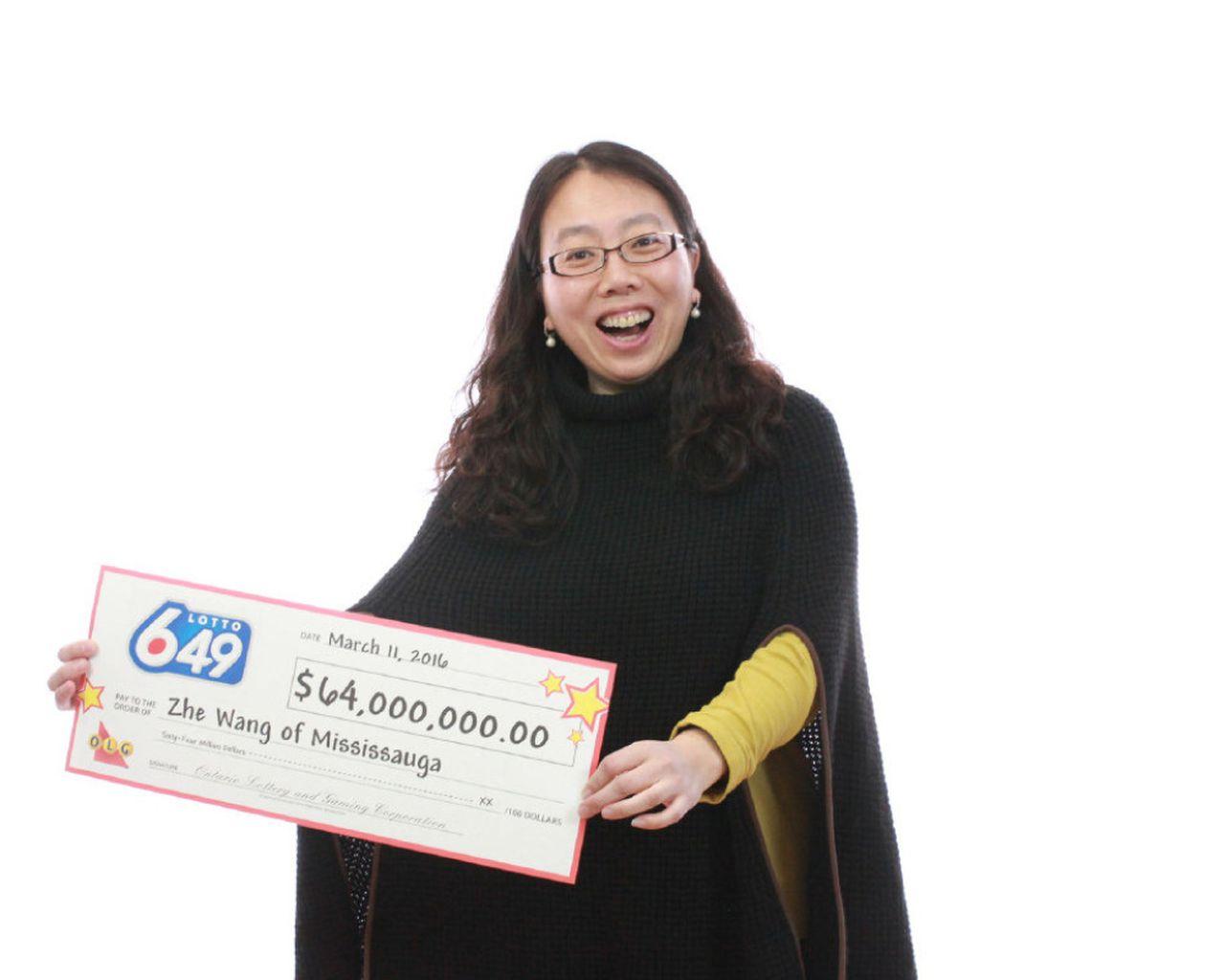 这几个号码容易中奖!华裔女赢加拿大史上最高彩票奖6400万