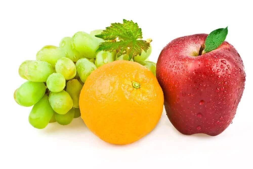 平性的水果
