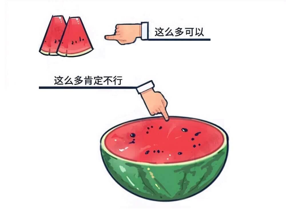 了解水果的性,吃西瓜的量