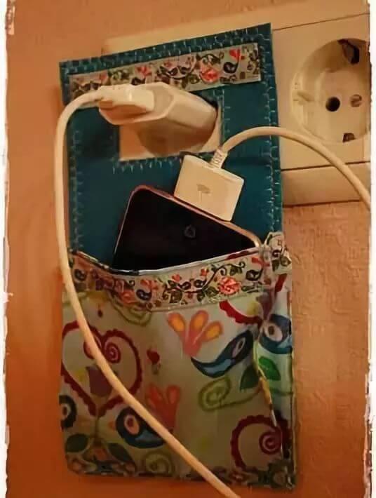 手机充电收纳袋