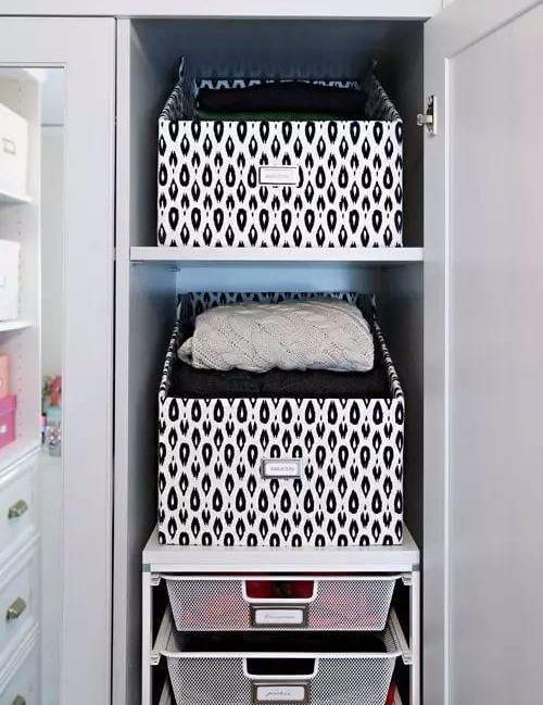 超实用的家居小窍门-衣物收纳箱